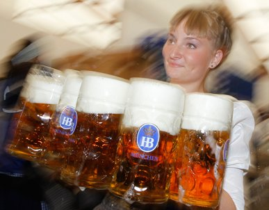 Europeans drink more than the inhabitants of any other continent on the planet. (Matthias Schrader / AP Photo)